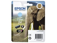Cartridge Epson 24 Helles Zyan