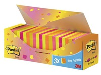 Pack 24 Post-it notes fruit 76 x 76 mm