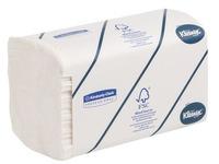 Doos met 1860 handdoekjes gewikkeld geplooid Kleenex Airflex Ultra