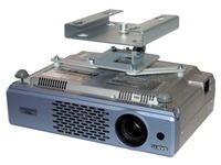 Fixed ceiling support for video projector