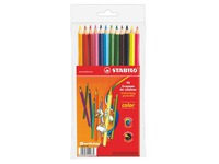 Case 12 colour pencils Stabilo