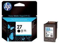Cartridge HP 27 zwart