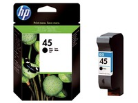 Cartridge HP 45 zwart