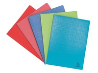 Document holders Exacompta Forever opaque polypropylene A4 40 sleeves assorted colours