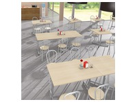 Pack Vilma 2 - Rectangular table + 4 chairs