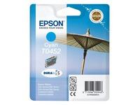 Epson T0452 - cyaan - origineel - inktcartridge (C13T04524010)