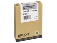 Epson T6059 - heel licht zwart - origineel - inktcartridge (C13T605900)