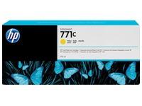 HP 771C - geel - origineel - inktcartridge (B6Y10A)