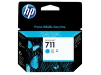 HP 711 - cyaan - origineel - inktcartridge (CZ130A)