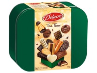Karton 1kg gemischtes Gebäck Delacre Tea Time
