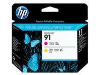 HP 91 - geel, magenta - printkop (C9461A)