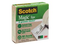 Ruban Magic invisible Écolo Scotch - longueur 30 m