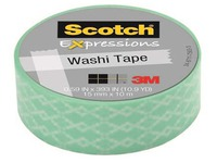 Adhesive tape Scotch coloured length 10 m