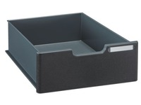 Drawer H 10.8 cm for Moduloc Exacompta - black