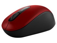 Microsoft Bluetooth Mobile Mouse 3600 - muis - Bluetooth 4.0 - donkerrood