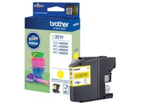LC221Y BROTHER MFCJ880DW INK YELLOW