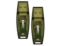 Pak met 2 USB-sleutels Emtec C410 16 GB