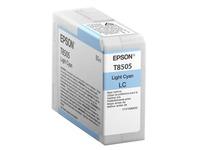 Epson T8505 - lichtcyaan - origineel - inktcartridge (C13T850500)