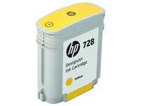 HP 728 - inkt-cyaan - origineel - DesignJet - inktcartridge (F9J63A)