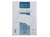 File folders 22 x 31 cm white - pack of 100