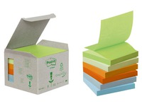 Blocks Post-It Z-Zettel Gelb 76 x 76 mm recycletes Papier