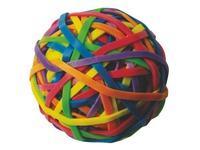 Bal met gekleurde elastiekjes Safetool
