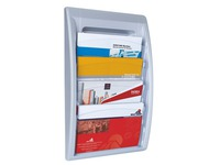 Wall display Quick Fit 5 compartments 24 x 32 cm alu