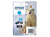 Epson 26XL - XL grootte - cyaan - origineel - inktcartridge (C13T26324012)