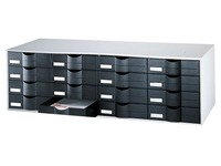 Storage block 16 drawers W 107,6 cm
