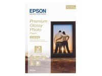 Epson Premium Glossy Photo Paper - photo paper - 30 sheet(s) - 130 x 180 mm - 255 g/m²