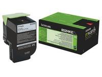 Toner Lexmark 80C2H hoge capaciteit zwart voor laserprinter