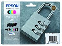 Epson 35 pak met 4 cartridges 1 zwarte en 3 kleuren voor inkjetprinter