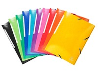 Folders with elastics and 3 flaps Exacompta Iderama