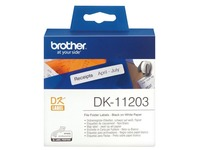 Brother DK-11203 - labels bestandmappen - 300 etiket(ten)