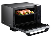 Panasonic NN-DS596MEPG - microwave oven with grill - freestanding - silver/black