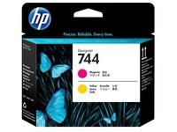 HP 744 - geel, magenta - printkop (F9J87A)