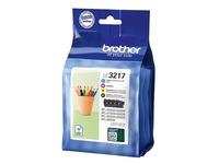 Brother LC3217 Value Pack - 4 - zwart, geel, cyaan, magenta - origineel - inktcartridge