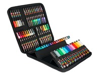 Suitcase Posca assortment of colors and points - suitcase of 60
