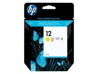 HP 12 - geel - origineel - inktcartridge