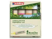 EN_SET 4X SURLIGN 24 EDDING