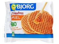 Gaufres miel Bio BJORG - Format pocket 60 g