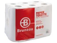 Papier toilette double épaisseur Bruneau - Colis 48 rouleaux 200 feuilles