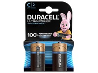Blister 2 batteries Duracell LR14 Ultra