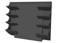 Holder for markers for magnetic bords Legamaster