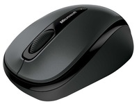 Microsoft Wireless Mobile Mouse 3500 - muis - 2.4 GHz - Lochness-grijs