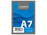 Notepad Aurora A7 75 x 105 mm 5 x 5 100 sheets