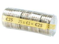 Kit 100 hoesjes voor muntstukken van 1 euro