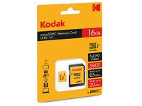 Micro SDHC memory card 16 GB with SDHC adapter - class 10