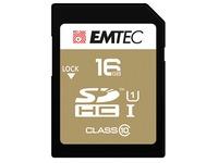Geheugenkaart SDHC 16 GB - klasse 10