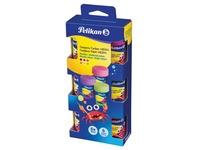 Pelikan gouache Neon, 20 ml, boîte de 6 pièces en couleurs assorties neon